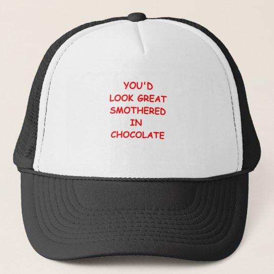 Schokolade Retrocap