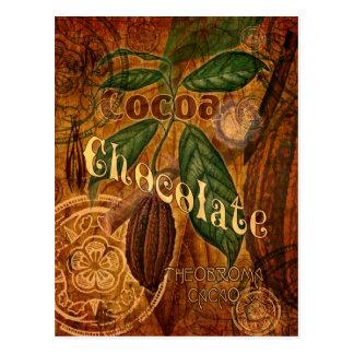 Schokoladen-Collage Postkarten