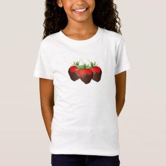 Schokoladen-Erdbeere T-Shirt