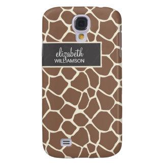 Schokoladen-Giraffe Pern Galaxy S4 Hülle