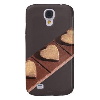 Schokoladen-Herzen Save the Date Galaxy S4 Hülle