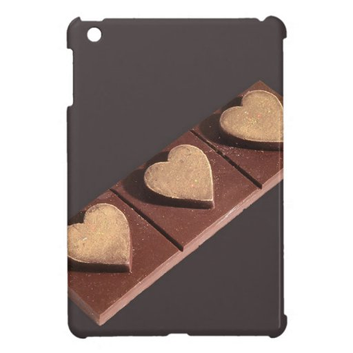 Schokoladen-Herzen Save the Date iPad Mini Schutzhüllen