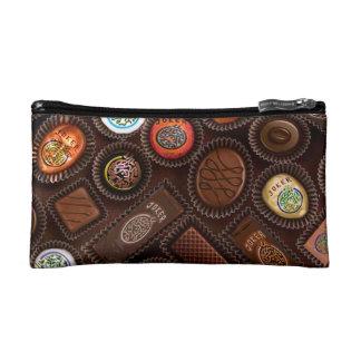 Schokoladen-kleine kosmetische Tasche