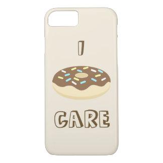 Schokoladen-Krapfen-Telefon-Kasten iPhone 8/7 Hülle