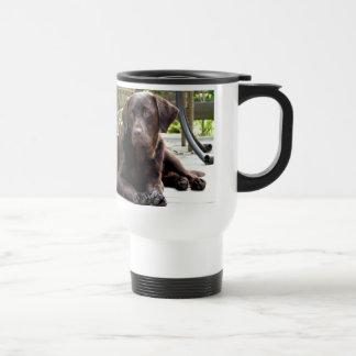 Schokoladen-Labrador Reisebecher