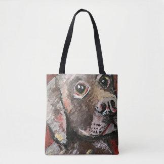 Schokoladen-Labrador-Taschen-Tasche Tasche