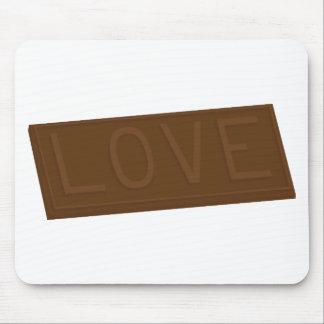 Schokoladen-Liebe-Bar Mousepad