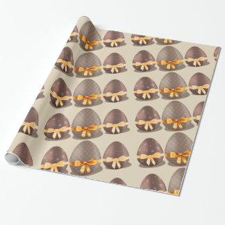 Schokoladen-Ostereier Einpackpapier