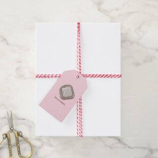Schokoladen-Trüffel Geschenkanhänger
