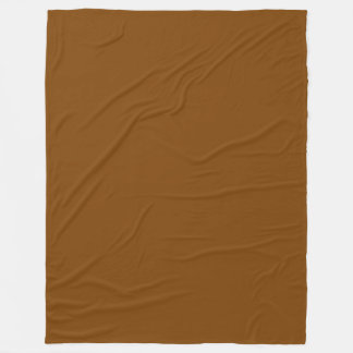 Schokoladenbrauner Normallack Fleecedecke