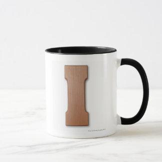 Schokoladenbuchstabe I Tasse