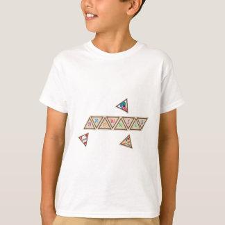 Schokoladenkuchen-Abzeichen T-Shirt