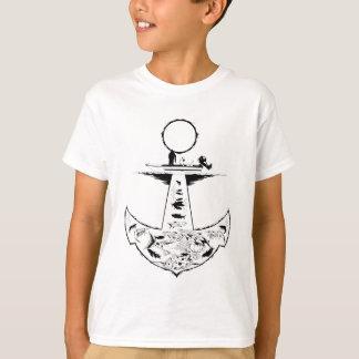 Scholle-Rotbarsch-und Forelle-Fischen-Shirt T-Shirt