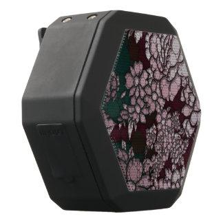 Schöne abstrakte Blumen Schwarze Bluetooth Lautsprecher