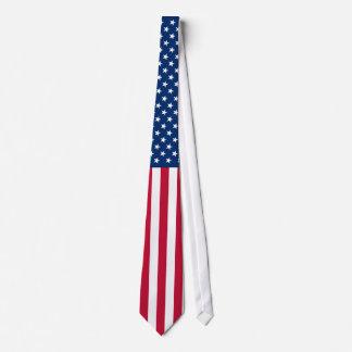Schöne amerikanische Flagge - Stolz USA Bedruckte Krawatten