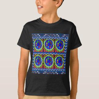 Schöne BLAUE Juwel-Entwurfs-Shirts durch T-Shirt