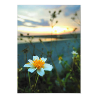 schöne Blume 12,7 X 17,8 Cm Einladungskarte