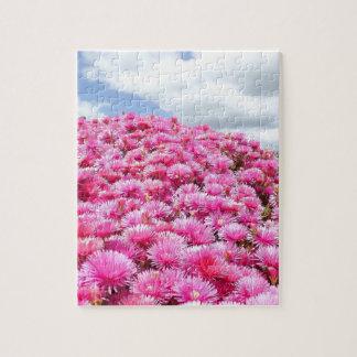 schöne Blumen in den geschwollenen Wolken der