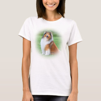 Schöne Colliehundedamen T - Shirt, Geschenkidee T-Shirt