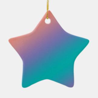 Schöne einfache Wellen-Schatten: addieren Sie txt Keramik Stern-Ornament