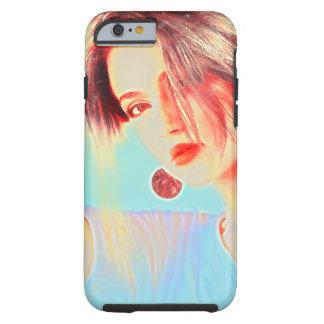 Schöne elegante Dame Tough iPhone 6 Hülle