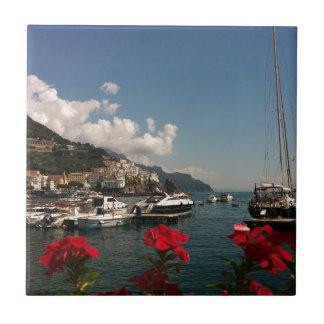 Schöne Fotografie der Amalfi-Küste, Italien Keramikfliese