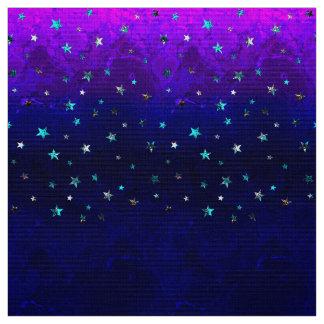 Schöne Galaxie-Nachtsternenklares Bild des Raumes Stoff