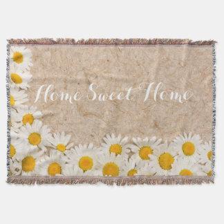 Schöne Gänseblümchen Decke