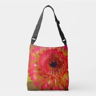 Schöne Gerberas Blume, Taschentasche Tragetaschen Mit Langen Trägern