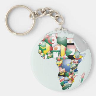 Schöne hallo-Mutter Afrika Afrikas Schlüsselanhänger