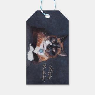 Schöne Katze Geschenkanhänger
