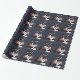 Schöne Katze Geschenkpapier