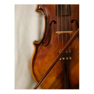 Schöne Musik--Violine Postkarte