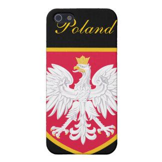 Schöne Polen-Flagge iPhone 5 Hüllen