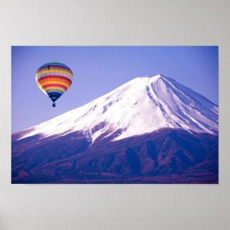 Schöne Reise des Fujisans Japan Poster