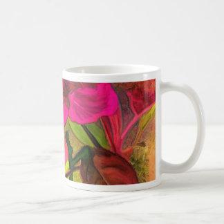 Schöne rosarote Apfelblüte. Girly Kaffeetasse