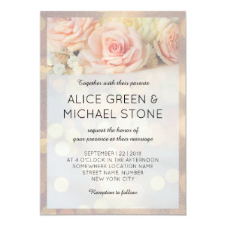 Schöne Rosen der eleganten Art Karte