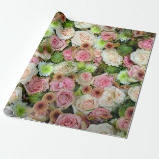 Schöne Rosen Geschenkpapier