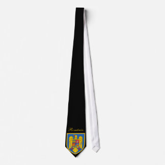 Schöne Rumänien-Flagge Individuelle Krawatten