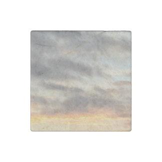 Schöne Sonnenuntergang-Stein-Magneten Steinmagnet