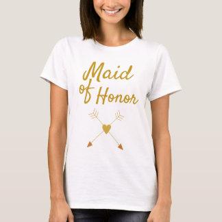 Schöne Trauzeugin T-Shirt