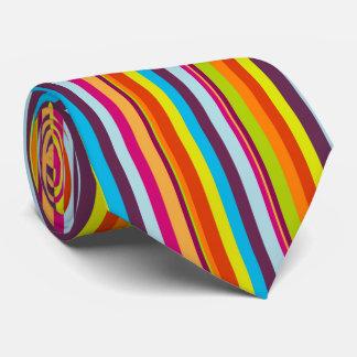 Schöne und bunte vertikale Streifen-Krawatte Krawatte