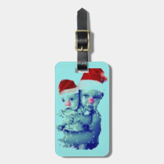 Schöne Weihnachtsbabys Gepäckanhänger