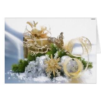 """Schöne Weihnachtskarte 5"""" x7"""" horizontales Karte"""