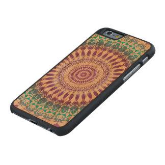 Schöner blauer und lila Kreis verfasst Carved® iPhone 6 Hülle Kirsche