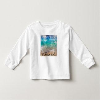 Schöner Cancun-Strand - Digital-Aquarell Kleinkind T-shirt
