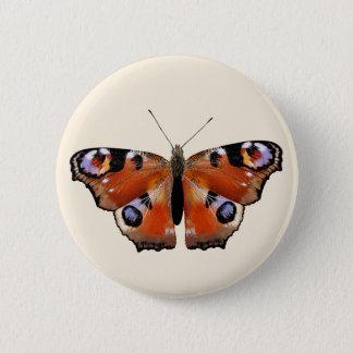 Schöner Entwurf mit Schmetterling Runder Button 5,1 Cm