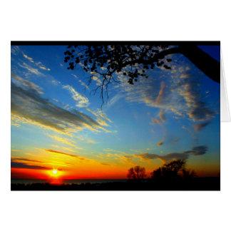 Schöner Geburtstag von Sonnenaufgang zu Karte