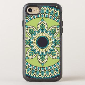 Schöner grüner Boho Entwurf OtterBox Symmetry iPhone 7 Hülle