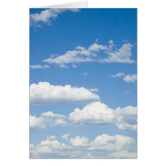 Schöner Himmel Karte